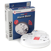 Fire Alarms, Domestic Smoke, Heat & CO Alarms, Aico 140RC Series Mains Powered Alarms With Alkaline Battery Back-up - Aico Ei168RC RadioLINK Base