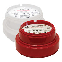 Fire Alarms, Wireless Fire Alarms, EMS Wireless Fire Alarm System, EMS Firecell Sounders & Beacons - EMS Firecell Wireless Sounder Base Only in Red or White