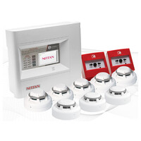 Fire Alarms, Fire Alarm Kits, Addressable Fire Alarm Kits - Nittan Evolution Small Install Kits