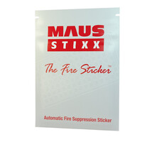 Fire Extinguishers & Blankets, Automatic Fire Extinguishers - MAUS Stixx Fire Suppression Sticker
