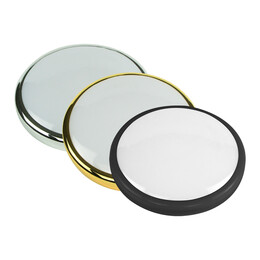 Black, Brass or Chome Bezel for Milan 15W Circular Emergency LED Lumiaire