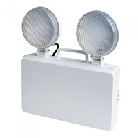 Emergency Lighting, Emergency Spotlights - GU32 Budget Indoor Non-Maintained IP20 LED Emergency Twin Spot