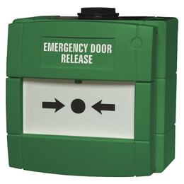 KAC Weatherproof Green Door Release Manual Call Point
