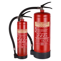 Green Foam Mist 2 or 6 Litre Foammist Extinguisher