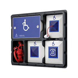 VoCALL Emergency Assist Standalone Disabled Toilet Kit