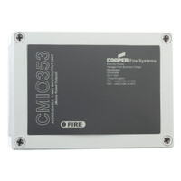 Fire Alarms, Fire Alarm Accessories, Addressable Interface Units, Eaton Cooper Intelligent Addressable Interfaces - Eaton CMIO353 230V AC Addressable Intelligent Relay Unit
