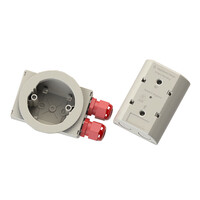 Fire Alarms, Fire Alarm Accessories, Wiring Accessories - DL-PRO Ceiling Mounting Detector Faster Fix Box