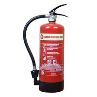 Fire Extinguishers & Blankets, Foam Fire Extinguishers - Alcohol Resistant 6 Litre Foam Extinguisher