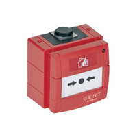 Fire Alarms, Manual Call Points, Conventional Call Points - Gent Weatherproof Conventional Manual Call Point