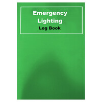 Emergency Lighting, Emergency Lighting Testing - Emergency Lighting Logbook BS 5266
