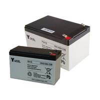 Fire Alarms, Fire Alarm Accessories, Fire Alarm Batteries - Yucel 12V SLA Fire Alarm Batteries