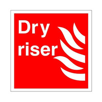 Fire Signs, Fire Equipment Signs - Dry Riser Sign