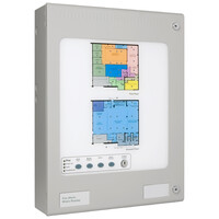 Fire Alarms, Fire Alarm Panels, Addressable Panels, Kentec Addressable Panels, Kentec Syncro Repeater Panels - Kentec Addressable Matrix Mimic Panel For Syncro AS or Taktis