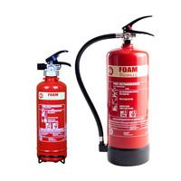 Fire Extinguishers & Blankets, Foam Fire Extinguishers - 2 or 6 Litre Biomax Foam Fire Extinguisher