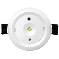 Emergency Lighting, LED Emergency Lighting, LED Emergency Downlights - Glade 5W White Maintained Emergency Downlight