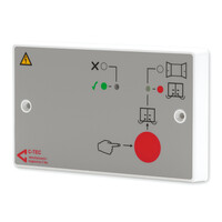 Fire Alarms, Fire Alarm Accessories, Fire Alarm Power Supplies - 24V 250mA Door Release Power Supply Unit with option Detector Circuit