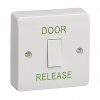 Security Equipment, Door Access Control, Standalone Door Access, Exit Switches & Call Points - STP-SPB001 Door Release Button Engraved