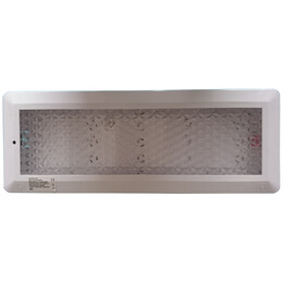 EXS80 LED Non-Maintained Recessed Emergency Light Fitting