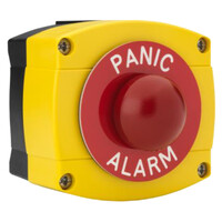 Fire Alarms, Fire Alarm Accessories, Switches & Push Buttons - STP Surface Mounted Red Dome PANIC ALARM Button
