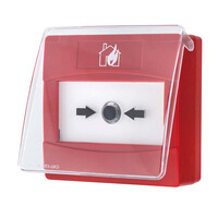 Fire Alarms, Fire Alarm Accessories, Fire Alarm Protection - Protective Cover For CP4 Manual Call Points, Pack of 10