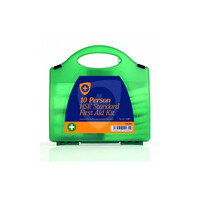First Aid & Safety Equipment, First Aid Kits - Premium 10 Person First Aid Kit