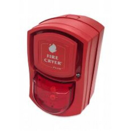 Kentec Fire-Cryer Extinguishing Voice Sounder with Visual Indicator