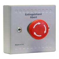 Fire Alarms, Automatic Extinguisher Systems, Kentec XT Extinguishing Control Systems, Sigma XT & XT+ Conventional Extinguishing Control System - Kentec Sigma XT+ System Abort Button Unit