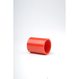 Plain Red ABS 25mm Socket