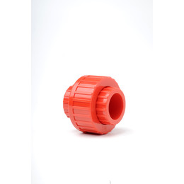 Plain Red ABS 25mm Union