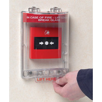 Fire Alarms, Fire Alarm Accessories, Fire Alarm Protection - STI Call Point Stopper With Optional Sounder