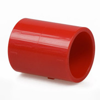 "Fire Alarms, Fire Alarm Detectors, Aspirating Smoke Detection, Aspirating Pipe & Fittings, 27mm (3/4"") Aspirating Pipe & Fittings, Fittings - Plain Red ABS 3/4"" x 25mm Adaptor"