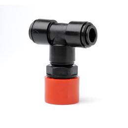 25mm/10mm Compression Adaptor Tee
