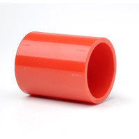 "Fire Alarms, Fire Alarm Detectors, Aspirating Smoke Detection, Aspirating Pipe & Fittings, 27mm (3/4"") Aspirating Pipe & Fittings, Fittings - Plain Red ABS 3/4 (27mm)"