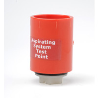 "Fire Alarms, Fire Alarm Detectors, Aspirating Smoke Detection, Aspirating Pipe & Fittings, 27mm (3/4"") Aspirating Pipe & Fittings, Fittings - 3/4"" Red ABS Test Point"