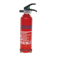 Fire Extinguishers & Blankets, Powder Fire Extinguishers - 1kg Dry Powder Fire Extinguisher