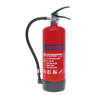 Fire Extinguishers & Blankets, Powder Fire Extinguishers - 4kg Dry Powder Fire Extinguisher