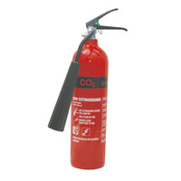Fire Extinguishers & Blankets, CO2 Fire Extinguishers - 2kg CO2 Fire Extinguisher