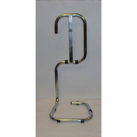 Fire Extinguishers & Blankets, Fire Extinguishers Stands & Cabinets - Single Chrome Fire Extinguisher Stand