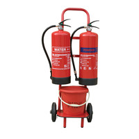 Fire Extinguishers & Blankets, Fire Extinguisher Protection, Fire Extinguisher Stands - Mobile Fire point / Forecourt Trolley
