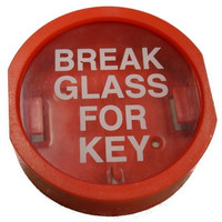 Fire Alarms, Fire Alarm Accessories, Document & Key Storage - Plastic Fronted Break Glass Key Box