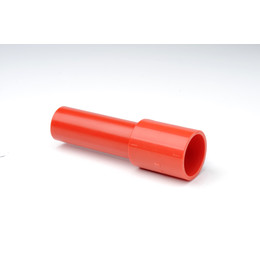 Plain Red ABS Male 25mm x 3/4