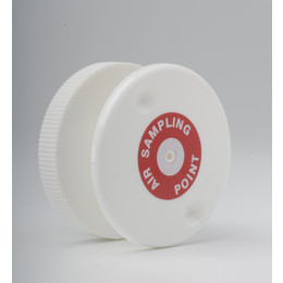 Flush Air Sampling Point (White with Label)