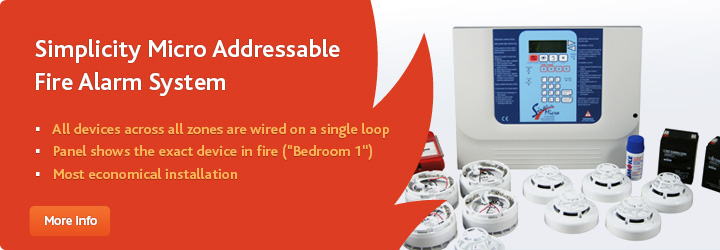 Simplicity Micro Addressable Fire Alarm System